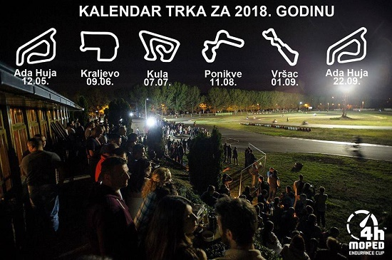 moped trka kalendar