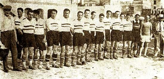 reprezentacija madjarske 1934