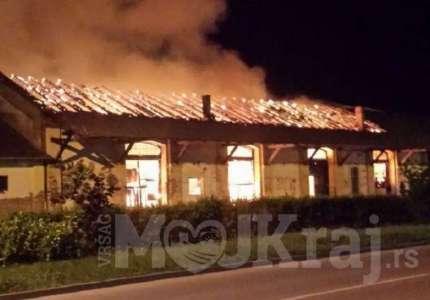 Veliki požar u Vršcu, gore magacini kod Železničke stanice i Carine