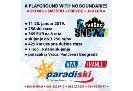 Skijanje za Vrščane zime 2019. godine