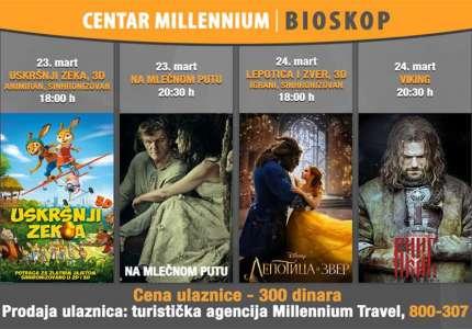 Novi filmovi za sve generacije u Centru Milenijum
