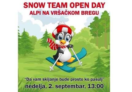 Snow team Vršac pravi promociju na Vršačkom bregu