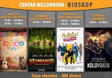 MILENIJUM: Novi filmovi u novoj godini
