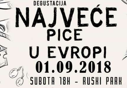 Travolta časti Vrščane najvećom picom u Evropi